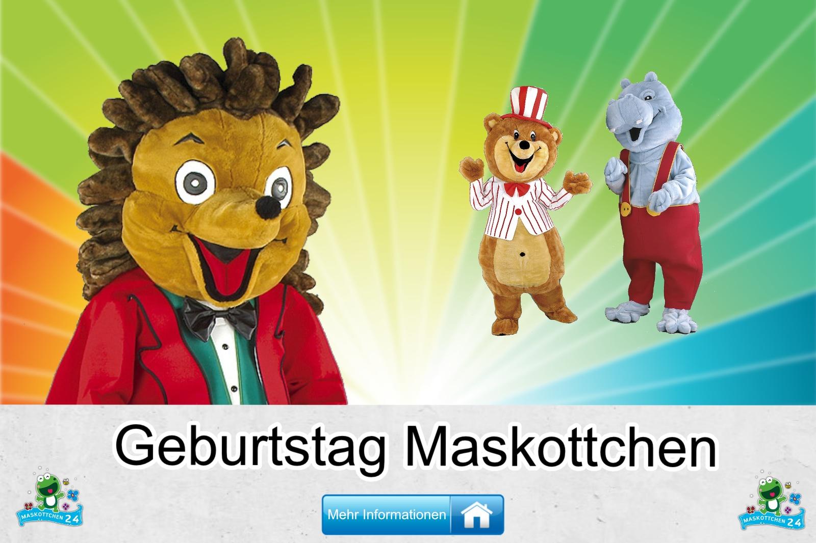 Geburtstag Maskottchen Kostüm kaufen, günstige Produktion / Herstellung.