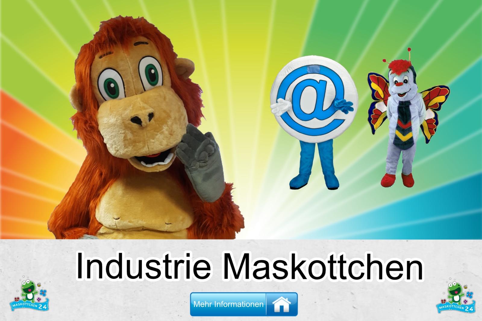 Industrie Maskottchen Kostüm kaufen, günstige Produktion / Herstellung