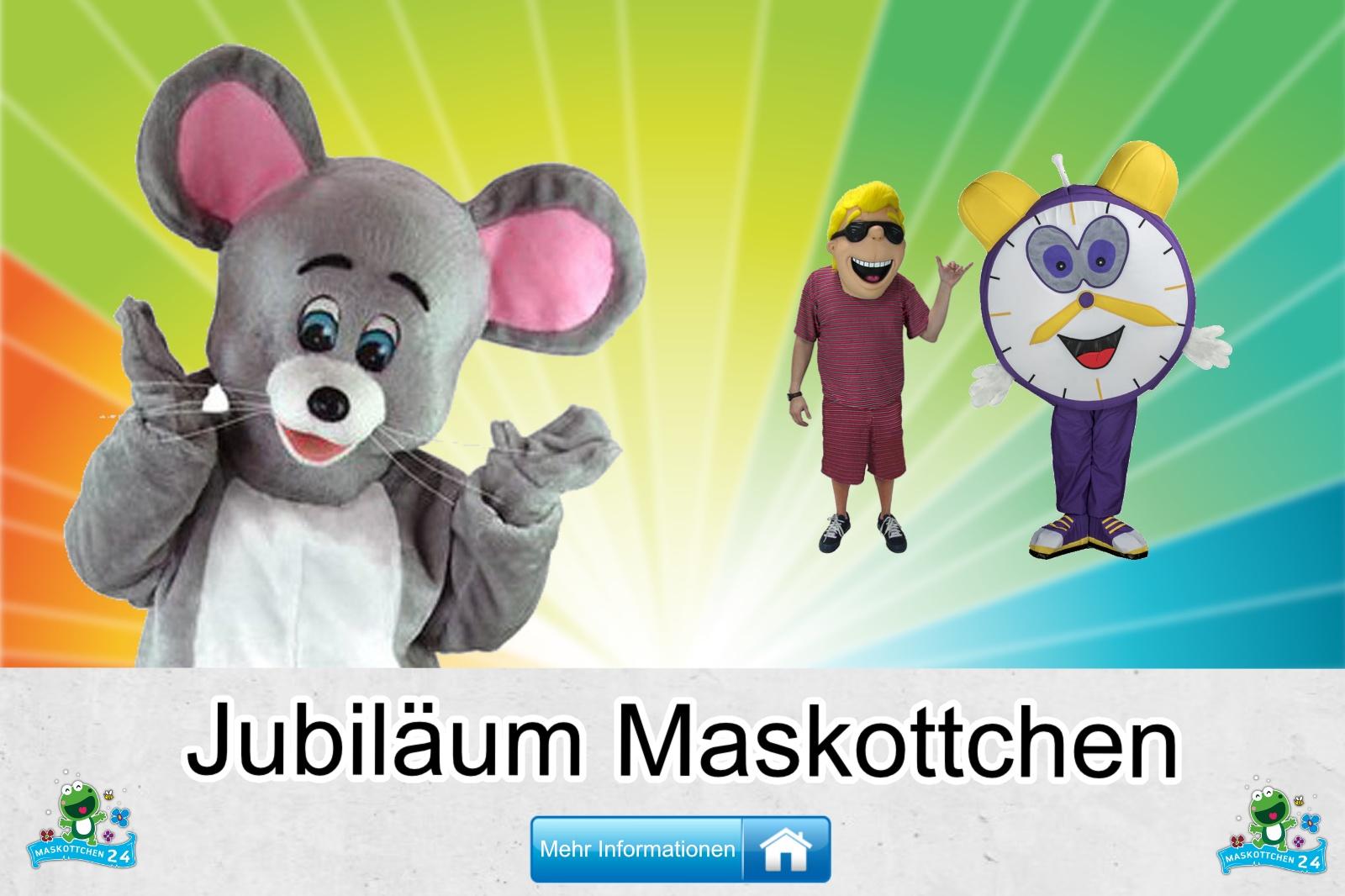 Jubiläum Maskottchen Kostüm kaufen, günstige Produktion / Herstellung