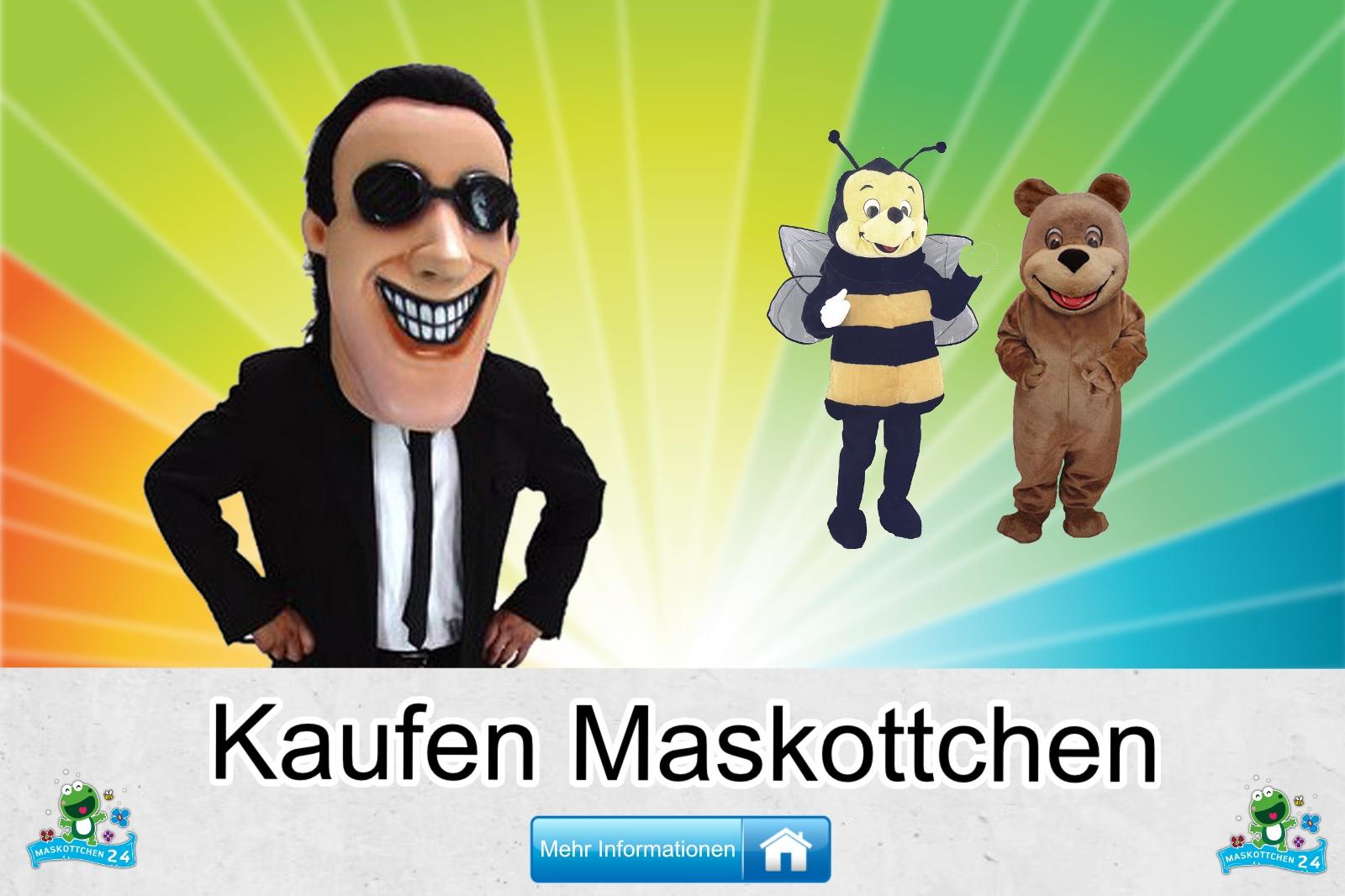 Maskottchen Kostüm kaufen, günstige Produktion / Herstellung