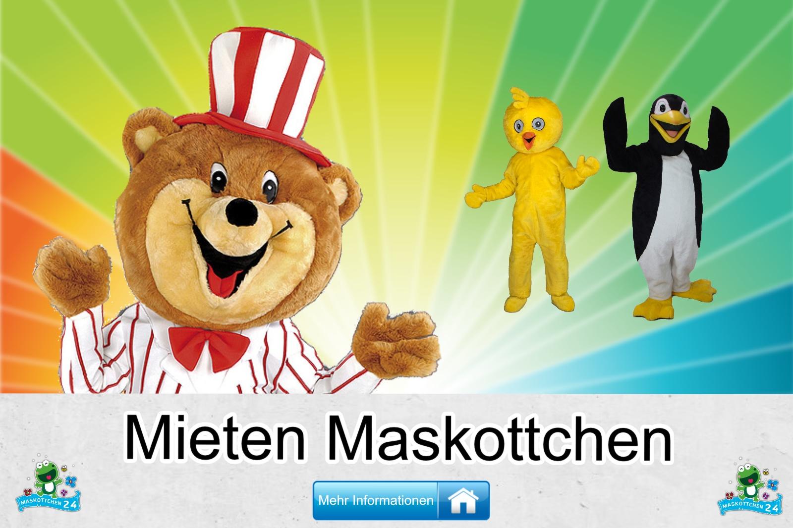Mieten Maskottchen Kostüm kaufen, günstige Produktion / Herstellung
