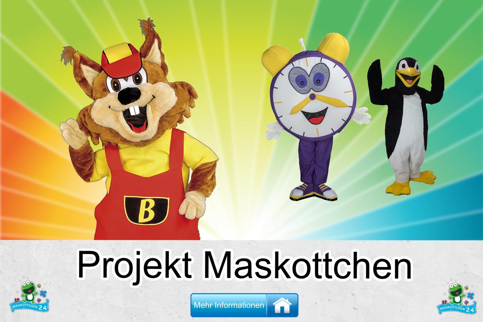 Projekt Maskottchen Kostüm kaufen, günstige Produktion / Herstellung