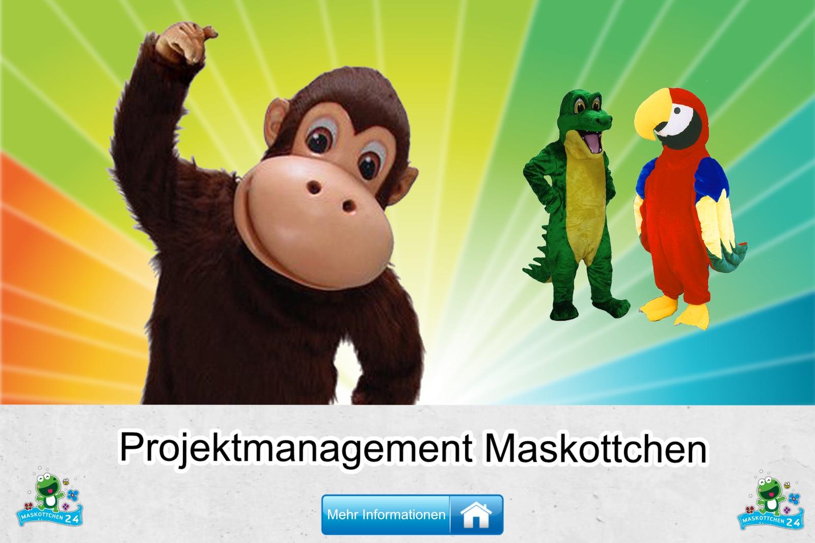 Projektmanagement Maskottchen Kostüm kaufen, günstige Produktion / Herstellung
