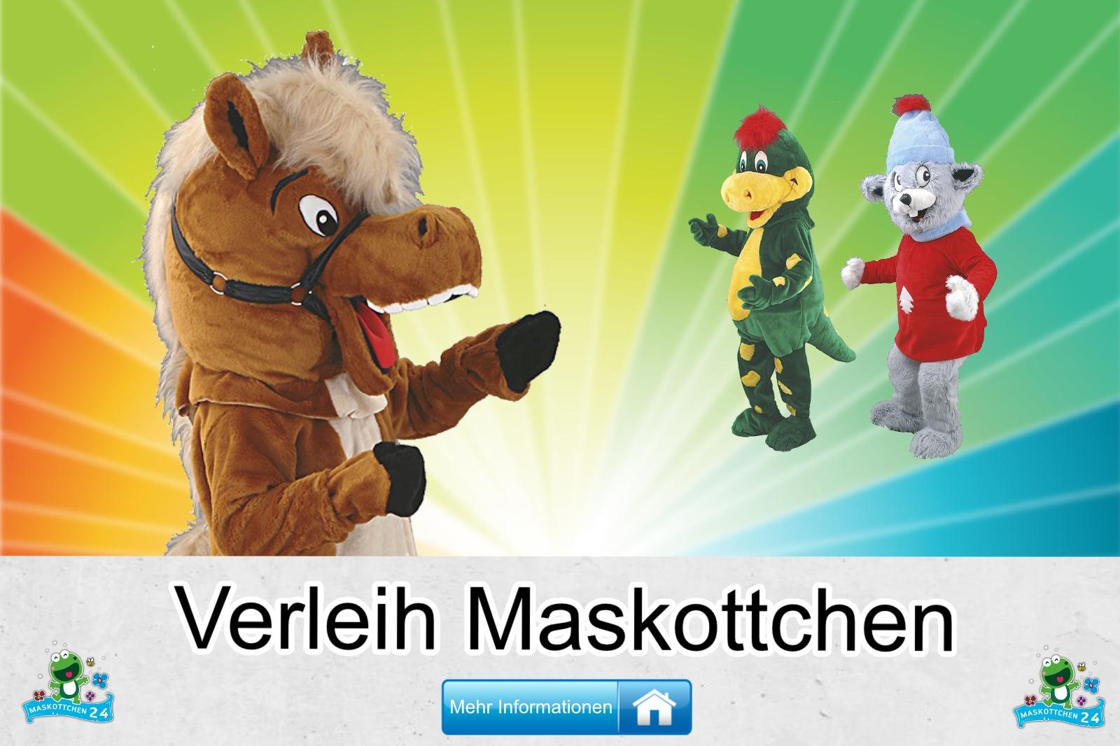 Verleih Maskottchen Kostüm kaufen, günstige Produktion / Herstellung