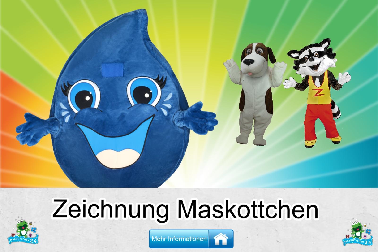 Zeichnung Maskottchen Kostüm kaufen, günstige Produktion / Herstellung
