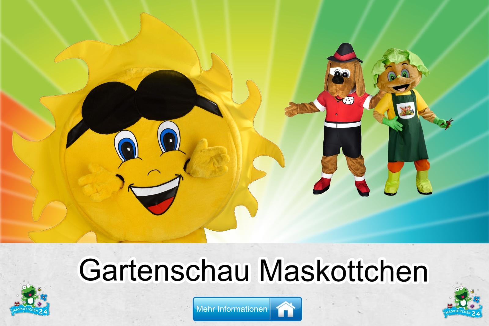 Gartenschau Maskottchen Kostüm kaufen, günstige Produktion / Herstellung