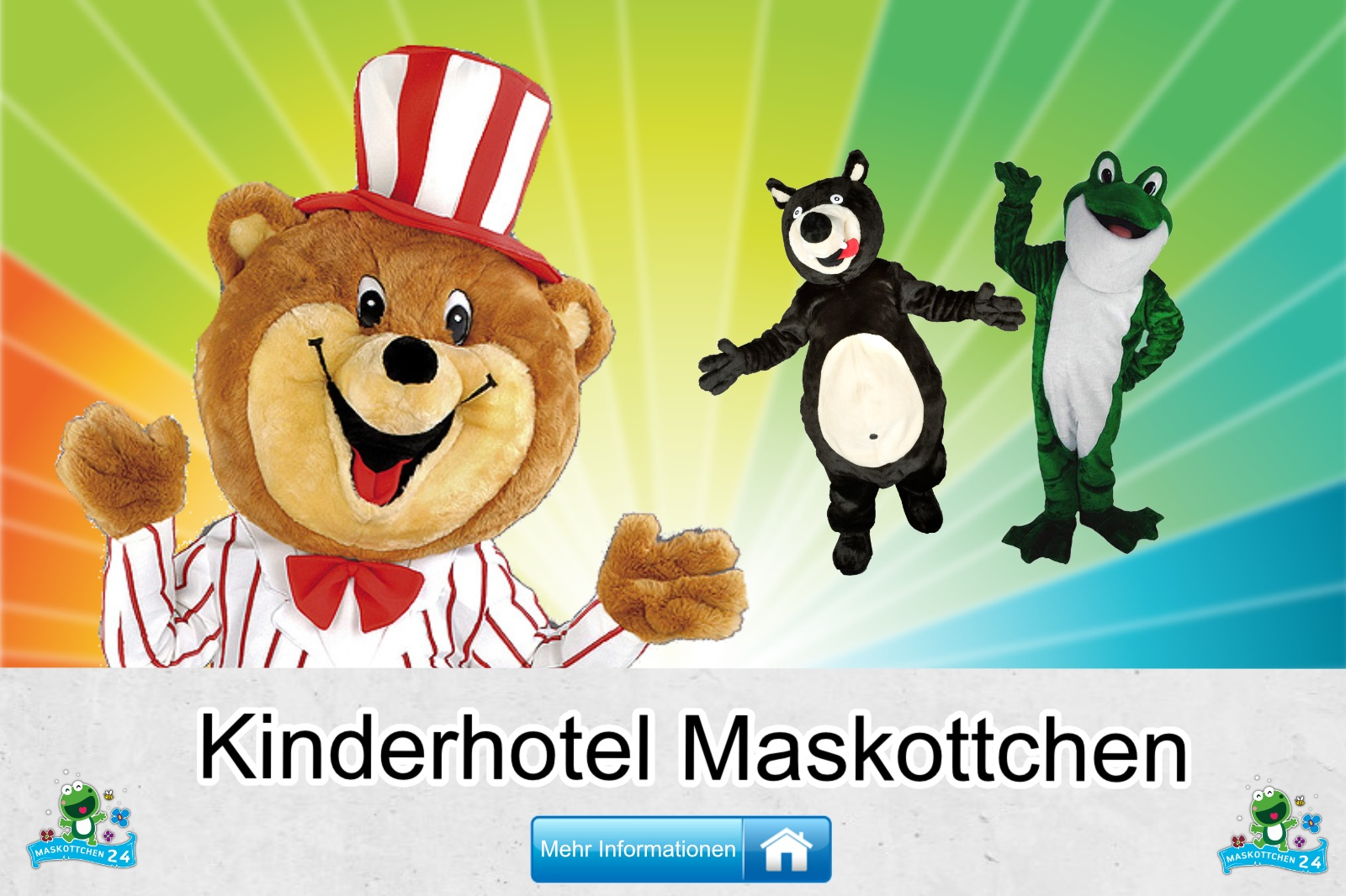 Kinderhotel Kostüm kaufen, günstige Produktion / Herstellung