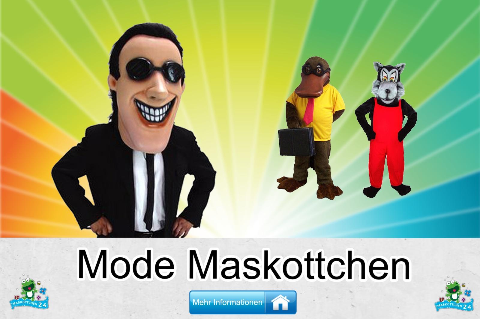 Mode Maskottchen Kostüm kaufen, günstige Produktion / Herstellung